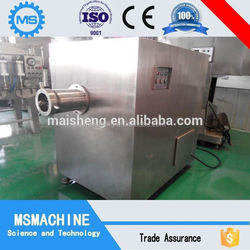 Low consumption stainless steel frozen chicken/beef mincing machine Manufacturer
