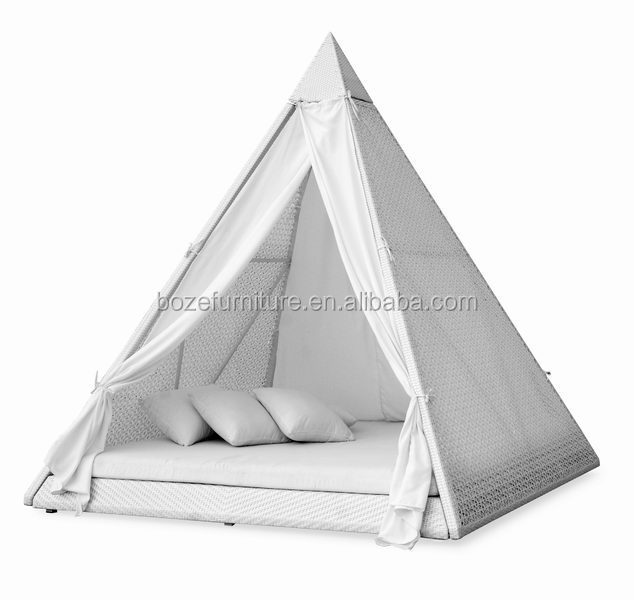 Outdoor furniture pyramid bed rattan wicker garden sun for Outdoor furniture egypt