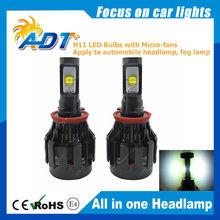 2015 Newest Automobile With high lumen H11 LED Headlight Bulbs