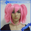 Wholesale prices synthetic cosplay armor wigs, code geass lelouch zero mask helmet cosplay, color wig cosplay