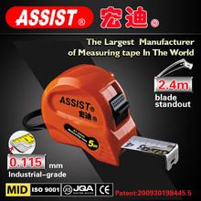 promotional product Assist embossed bulk depth water tape measure of measuring tools