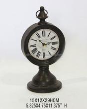 High Quality Metal Mantel Clock