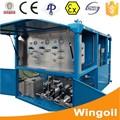 Óleo y gas cilindro hidroestático montura resbaladiza equipo pruebas presión dispositivo para maquinaria petroleo