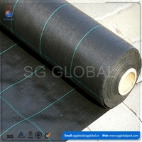 PP woven garden plant protection anti weed mat
