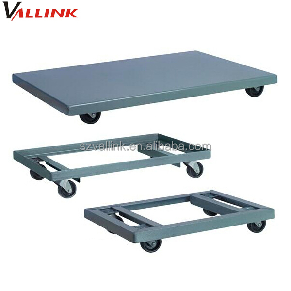 Sheet metal furniture - Smooth Sheet Steel Easy Moving Dollies For Moving