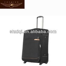 Aluminum metal suitcase 2014 luggage garment bag business baggage