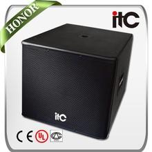 "ITC TS-818S 600W 8 ohm Neodymium 18"" Boom Box Speaker"