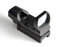 AR 15 of 4 Reticle Reflex Sight Black Color HDR31 Red/ Green Dot sight