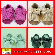2015 Spring Summer New fashion cheap cute sweet color bow and tassels sandals Imported From China wholesale with baby shoes