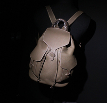 cow leather backpack, genuine cow leather, unisex, high quality