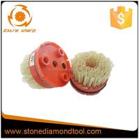 Fickert Abrasive Nylon Brush For Stone,Circular Abrasive Nylon Brush