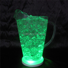 Hot sale multi color flash waterproof acrylic cup with LED lighted function