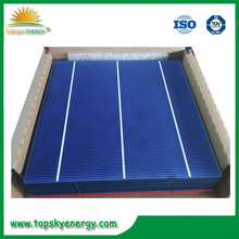 4.1 W poly solar cells cheap price solar cells for India