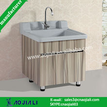 AJL-8317 pinghu cheaper and hot sale bathroom vanity/wash cabinets