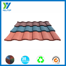 Roman type roof /sand coating roof tile for building material