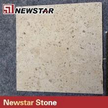 Newstar hot sales yellow color split face limestone