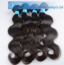High quality body wave tangle free hair extensions