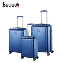 cabin size hard case luggage and bags 3 piece trolley luggage set PCL011-B19/23/27