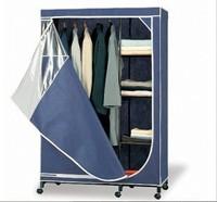 NEW Portable Clothes Garment Storage Rack Decorative Laminate Wardrobe