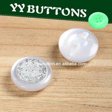 botón de resina cristal hecho a mano de yiwu botón fábrica