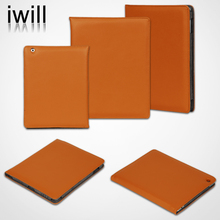 For ipad General cow genuine leather case,alibaba new mobile accessories