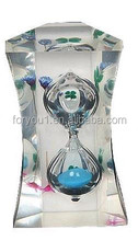 acrylic fancy hourglass for kids toys or promotion or gifts