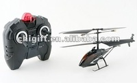 Ultra Durable Black Diamond Force Mini 3 Channel Indoor Ready to Fly RC Remote Control Helicopter