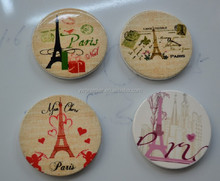 Lovely Ceramic Fridge Magnets with Many Beautiful patterns