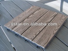 USD1.6/PCS Top Selling Outdoor WPC Tiles With FSC / CE / INTERTEK / BSCI Certificates And 20 Years Warranty