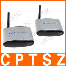 PAT-220 2.4GHz Wireless A/V Transmitter Receiver with IR Signal Extension Wire Set TV Audio Video