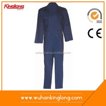 Blue Color Long Sleeve Safety Suit Workwear Overall Work Coverall For Pilot