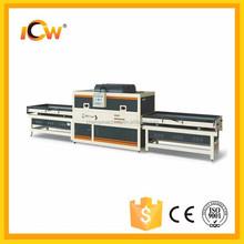 PVC decorative film MDF Kitchen Door vacuum laminating press machine with good quality and good price