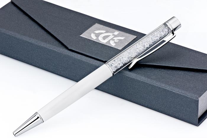 stylo promotionnel produit avec Swarovski éléments crystal