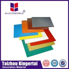 Alucoworld 1220*2440mm composite roofing acm sheet products recycled materials