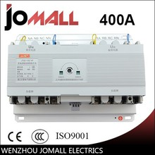 400A 4 pole 3 phase automatic transfer switch ats without English controller