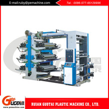 wholesale goods from china 6 Color Plastic Film Roll Printing Machine