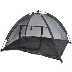 """35""""x28"""" Outdoor Camp Mesh Pop Up Pet Dog House Camping Tent Shelter Black"""