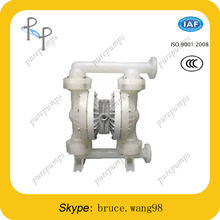 Prevent explosion Cast Iron/Plastic and Teflon air diaphragm pump for energy and environmental