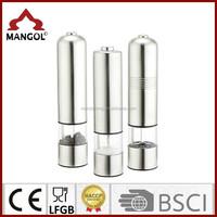 wholesale LED electric salt and pepper grinder