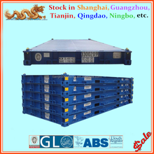 20ft 40ft ISO Platform Container Flat Deck Container