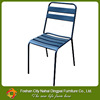 Backless cast iron benches for outdoor furniture