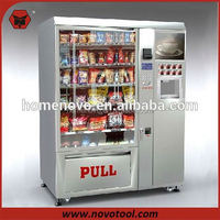 Hot Sale Coffee Vending Machine/Hot food vending machine/condom coffe vending machine