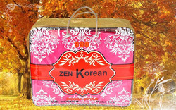 Brand high quality printed cheap yellow bag with pvc for blanket