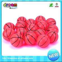 Supply lovely 6.3cm pu small plastic basketball