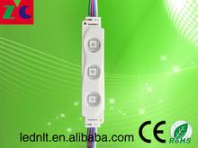 high quality China RGB module SMD5050 RGB led module 12v waterproof injection led module