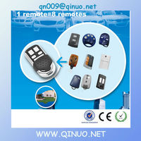 QN new item 15 different remotes in one remote multi code 433Mhz QN-RS027X 8 in 1 universal remote control codes