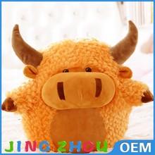 Vivid scotch highland stuffed toy, plush stuffed animal toy