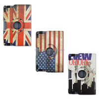 New UK US flag PU Leather case with stand For Amazon Kindle Fire HD X 8.9