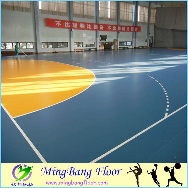 Low Price Wood Used Basketball Court Floor Futsal