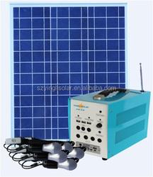 10W Lithium Ion Battery Solar Generator Yingli Brand
